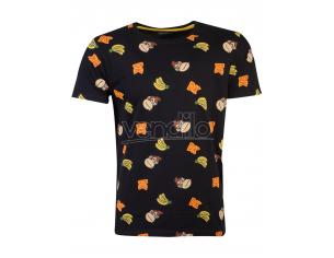 Nintendo - Super Mario Dk Aop T-shirt Uomo Difuzed