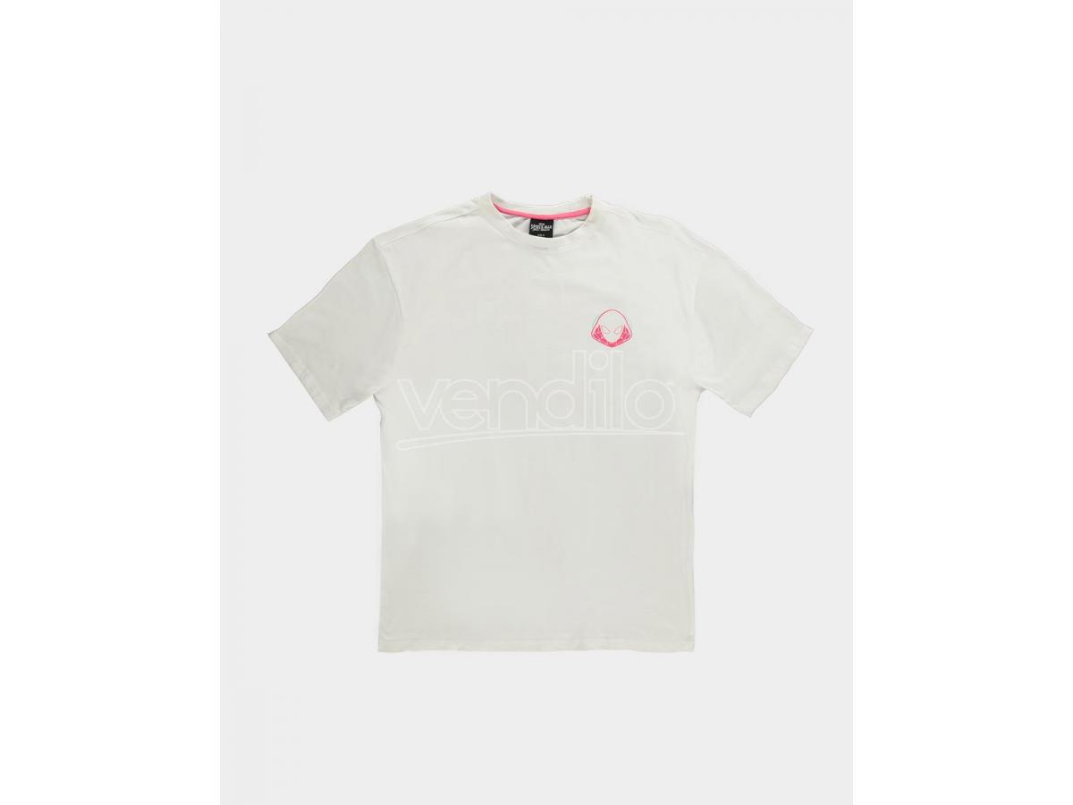Spider-man - Spider Gwen - T-shirt Donna (white) Difuzed