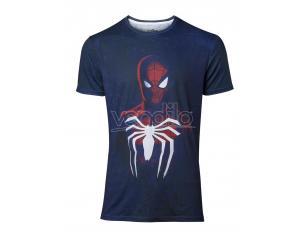 Spider-man - Acid Wash Spider-man T-shirt Uomo Difuzed