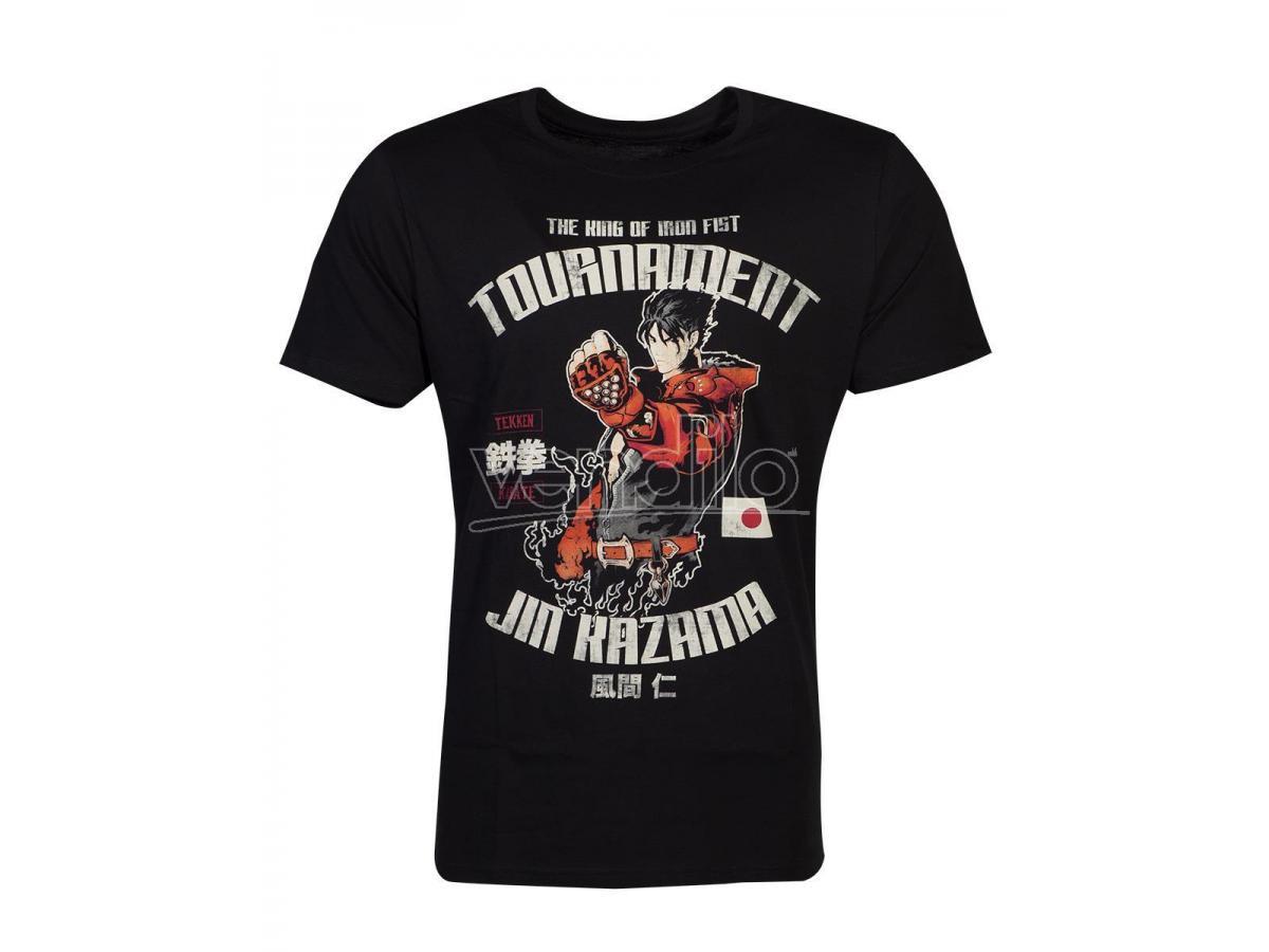 Tekken - Jin Kazama T-shirt Uomo Difuzed