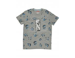 Marvel - Aop Iron Man - T-shirt Uomo Difuzed