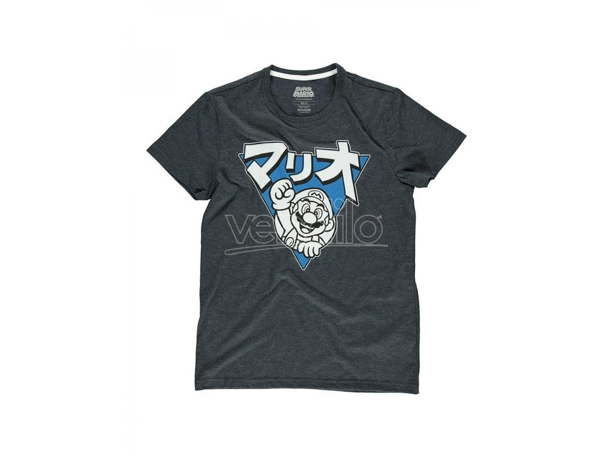 Nintendo - Super Mario Triangle Mario T-shirt Uomo Difuzed