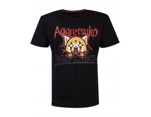 Aggretsuko - Trash Metal T-shirt Uomo Difuzed