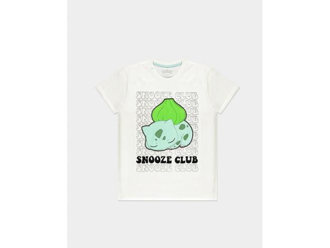 Pokémon - Bulbasaur Snooze Club T-shirt Uomo Difuzed