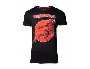 Deadpool - Vintage T-shirt Uomo Difuzed