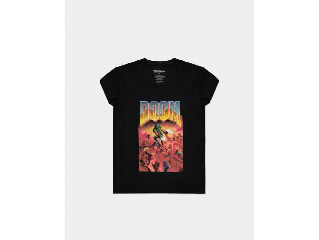 Doom - T-shirt Donna Difuzed