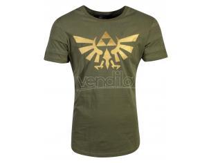 Zelda - Hyrule Pintuck Long Line T-shirt Uomo Difuzed