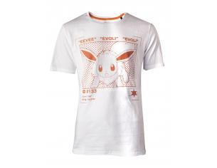 Pokémon - Eevee Profile T-shirt Uomo Difuzed