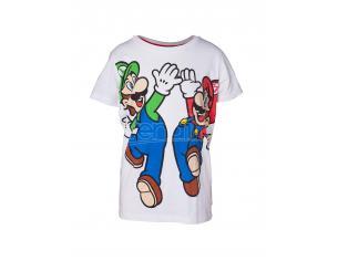 Super Mario Maglietta Bambino Mario & Luigi Difuzed