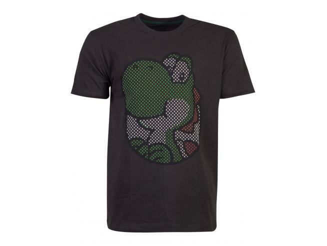 Nintendo - Yoshi Rubber Printed T-shirt Uomo Difuzed