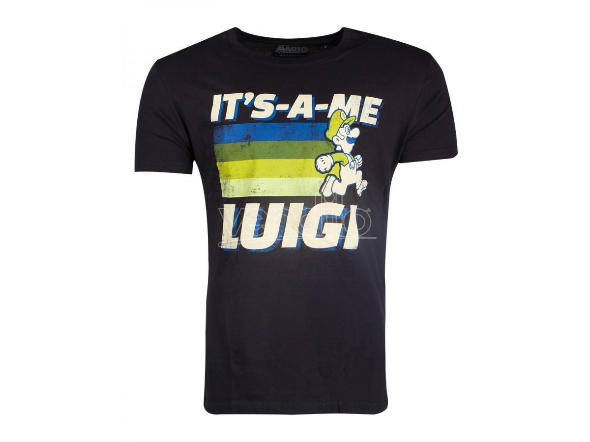 Nintendo - Super Mario Luigi T-shirt Uomo Difuzed