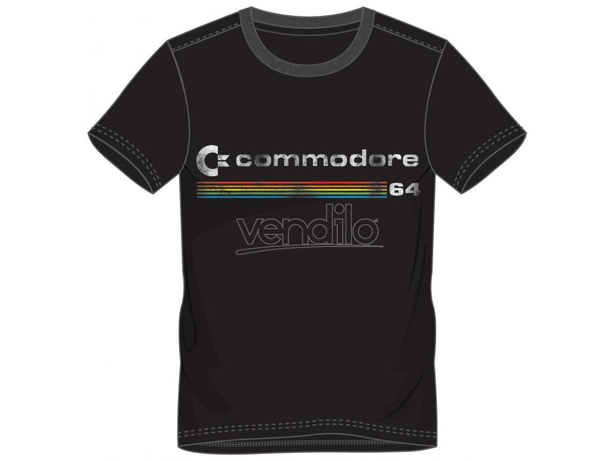 Commodore 64 - Logo T-shirt Uomo Difuzed