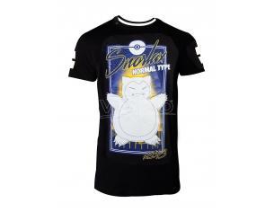 Pokemon - City Snorlax T-shirt Difuzed