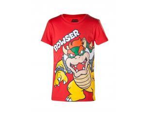 Super Mario T-shirt Bowser Difuzed