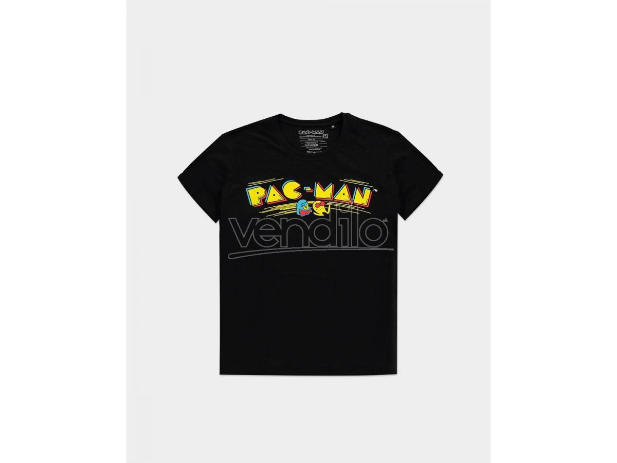 Pac-man - Retro Logo T-shirt Uomo Difuzed