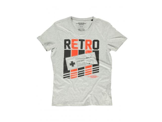 Nintendo - Retro Nes T-shirt Uomo Difuzed