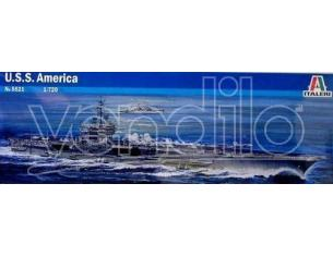 Italeri IT5521 USS AMERICA KIT 1:720 Modellino