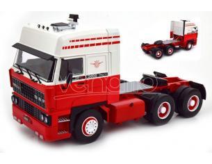 KK SCALE RK180093 DAF 3600 SPACECAB 1986 WHITE/RED 1:18 Modellino