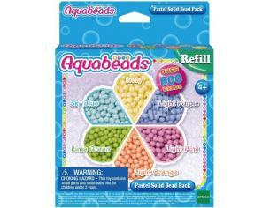 Aquabeads - Scatola Perle Solide Pastello