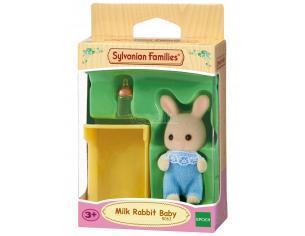 Sylvanian Family 5063 - Bebè Coniglio Latte