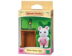 Sylvanian Family 5069 - Bebè Topino Bianco