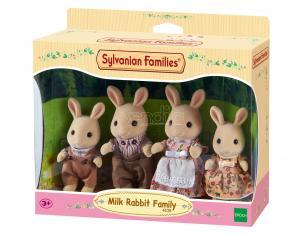 Sylvanian Family 4108 - Famiglia Coniglio Latte