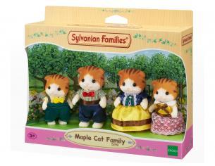 Sylvanian Family 5290 - Famiglia Gatto Acero
