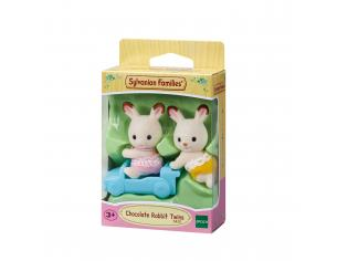 Sylvanian Family 5420 - Gemelli Conigli cioccolato