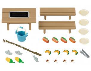 Sylvanian Family 5091 - Set barbecue