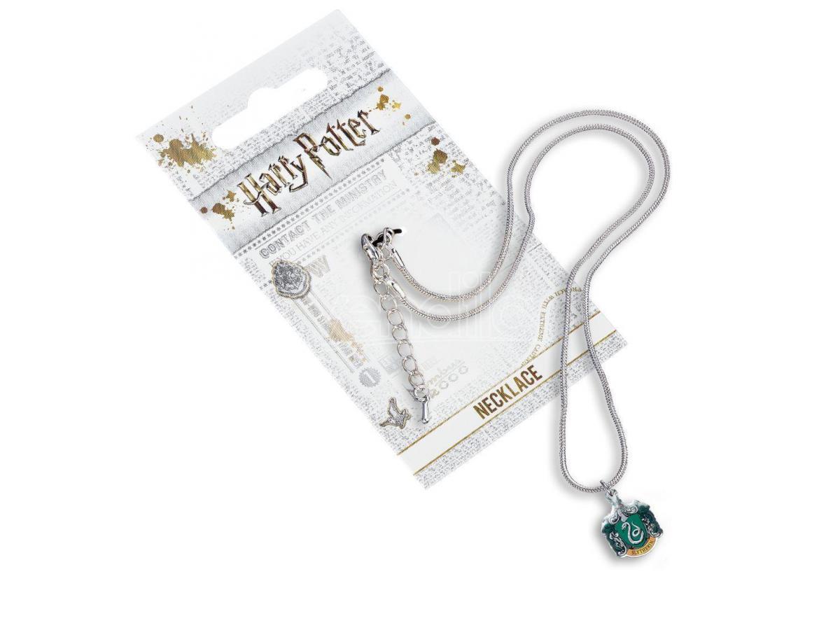Harry Potter Collana con Ciondolo Stemma Serpeverde 40 cm The Carat Shop
