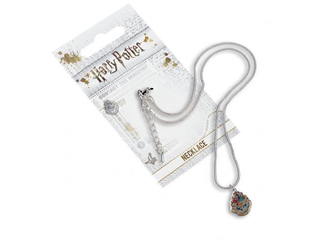 Harry Potter Collana con Ciondolo Stemma Hogwarts 40 cm The Carat Shop