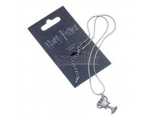 Harry Potter Collana con Ciondolo Coppa Tremaghi 40 cm The Carat Shop