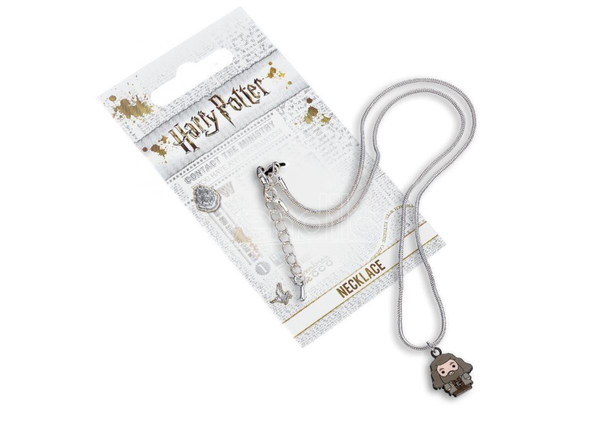 Harry Potter Collana con Ciondolo Rebeus Hagrid 40 cm The Carat Shop