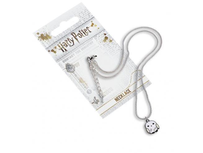 Harry Potter Collana con Ciondolo Edvige il Gufo 40 cm The Carat Shop