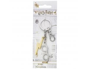 Harry Potter Portachiavi Occhiali e Fulmine 5 cm The Carat Shop