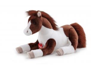 Trudi 23515 - Cavallo bianco marrone Picaro Taglia M