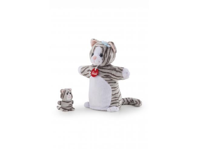 Trudi 29865 - Marionetta&baby Gatto Taglia S