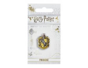 Harry Potter Spilla Distintivo Stemma Tassorosso 2 x 2 cm The Carat Shop