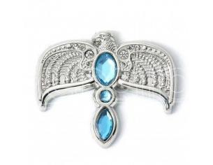 Harry Potter Spilla Distintivo Diadema con Cristalli 2 x 1 cm The Carat Shop