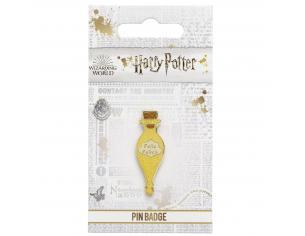 Harry Potter Spilla Distintivo Pozione Felix Felicis 2 x 1 cm The Carat Shop
