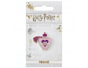 Harry Potter Spilla Distintivo Pozione Filtro d'Amore 2 x 2 cm The Carat Shop