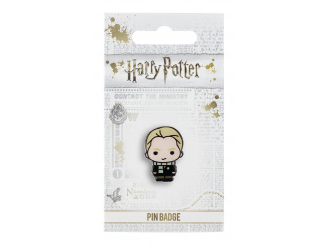 Harry Potter Spilla Distintivo Draco Malfoy 2 x 2 cm The Carat Shop