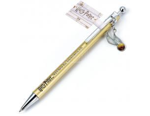 Harry Potter Penna con Ciondolo Boccino D'oro 1,5 cm The Carat Shop