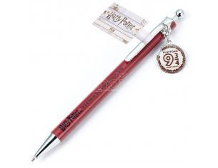 Harry Potter Penna con Ciondolo Binario 9 3/4 per Hogwarts 1,5 cm Warner Bros.