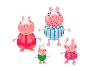 Peppa Pig Family Figura Pack Bandai