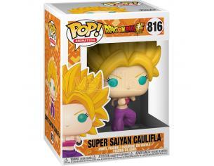 Pop Figura Dragon Ball Super Super Saiyan Caulifla Funko