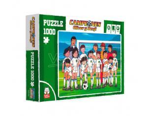 Captain Tsubasa Team Shot 1000 Pezzi Puzzle Puzzle Sd Toys