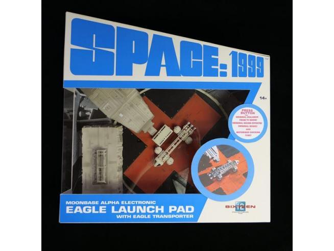 SPACE 1999 ELECTRONIC ALPHA LAUNCH PAD REPLICA SIXTEEN 12