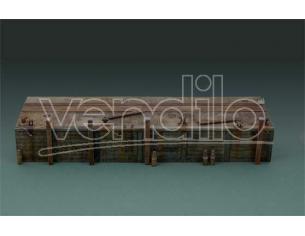 Italeri IT5612 LONG DOCK KIT 1:35 Modellino