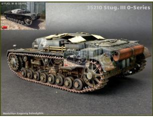 Miniart MIN35210 STUG.III 0-SERIES KIT 1:35 Modellino